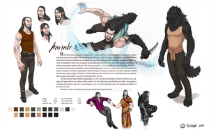 Anvindr Reference Sheet by Silvac