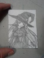ACEO #12 Halloween theme by ShelandryStudio
