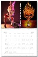 Blazin In May~ Calender I designed last year by BlazeTucson