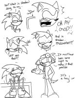 Sonic's Sonadow Discovery by nohra1994