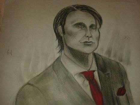 Dr Hannibal Lecter by sylent-artwork