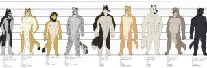 Character Line-Up 1 by timmylois2
