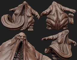 Fat Demon Zbrush by panick
