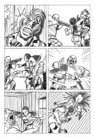Tough Lady comic Pages 08 by hany-khattab
