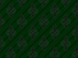 Green Floral Pattern by Gemn2000