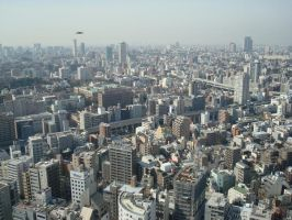 A View of Tokyo by thewordlesssignature