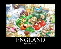 England Forever A scone by Hetaliarules12