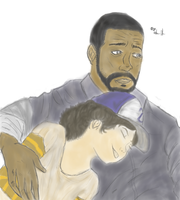 Lee and Clem by SLYJICE007