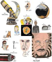drawing per episode-Doctor Who Season 2 by hatoola13