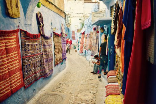 Streets of Morocco by Gypseatravel