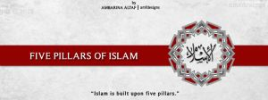 Five Pillars Of Islam by AMFdesigns