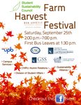 Harvest Festival Poster by FTIII