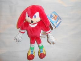 Sonic Boom: Knuckles Small Plush by BoomSonic514