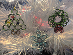 Chain Maille Christmas Ornaments by Stargatesg11
