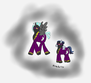 Shadowbolts Brothers by xXBLITZyXx