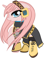 Megurine Luka Pony by Potates-Chan