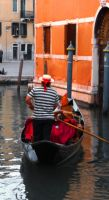 Gondola ride in Venice by InkyRose