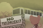 No Trespassers! (Front Cover) by Axel1KG