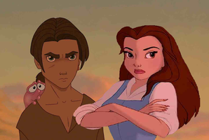 Belle's Adventures in Treasure Planet Part 9 by MedieavalBeabe