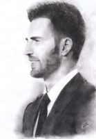 Chris Evans Pencil by Zartbitter-Salat