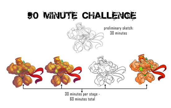 The 90 Minute Challenge by Un-Debido
