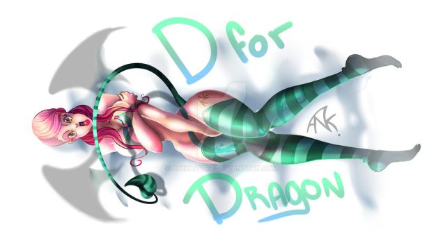 D for Dragon by anikaitofx