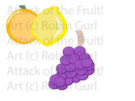 Vector Fruit 01 by robingirl