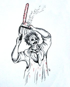 Leatherface by Tecnicinismo