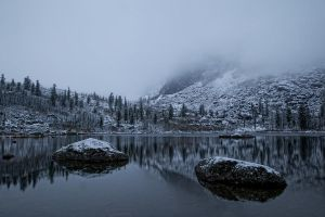 The onset of winter by Kamakaev