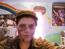 Make Up Fit For a Zombie by FaultyStar15
