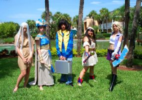 AFO Yu-Gi-Oh Group by stinkulousreddous