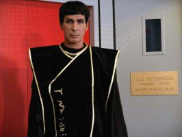 me in my Vulcan robe by WilliamSnape