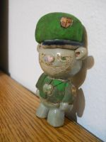 Flippy, the poorly made ceramic bear. by M-Ziliak