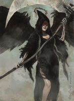 angel of death by fallen-eye