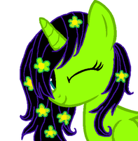 Princess Green Hooves (request) by DerpyLuv123
