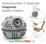 DeathStar Amigurumi Pattern FROGandTOAD Creations by FROG-and-TOAD