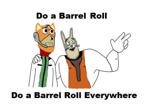 Barrel  roll Everywhere by FunnyDank