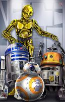 Star Wars Droids by WiL-Woods