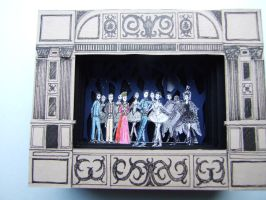 Paper Theatre - Swan Lake by tommy-tommerson