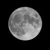 May 8 2009 Moon by Suiseiseki