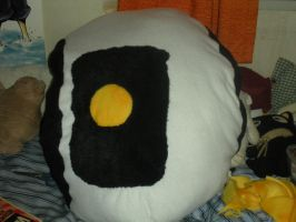 GladOs Pillow plush gamer seat by HeatherMason76