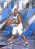 Andrew Wiggins Artwork by RealZBStudios