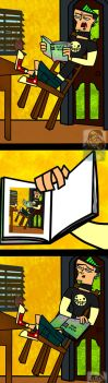 BOOK OF IDIOTS - Duncan by CourtR