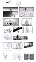 Santaman - Storyboard page08 by Gilmec