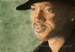 Will Smith by WitchiArt