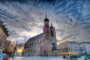 Krakow Poland Church by capturedjourneys
