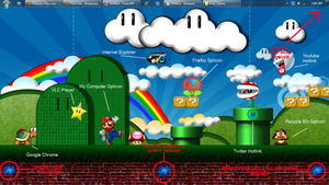 Mario Page Tutorial Splinterface by deema78