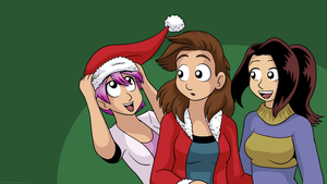 El Goonish X-Mas 2011 by DanShive