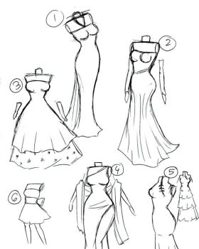Dresses by AtomicMangosAdopts