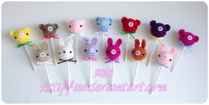 Lollipop Animals by xxtiffiee